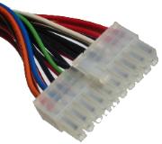 Stecker am Netzteil der an das Mainboard angeschlossen wird