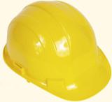 Bauhelme schützen vor gefährlichen Verletzungen am Kopf